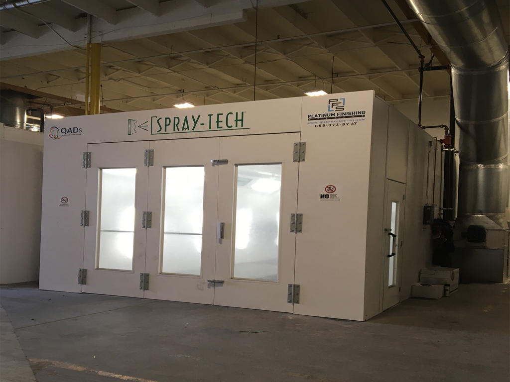 Spray Booth Refurbished